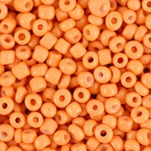 Deze leuke budget rocailles zijn ideaal om hippe sieraden te maken en zijn te koop bij kralenwinkel Limited Edition in Den Haag in de kleur woestijn oranje.