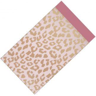 Deze papieren cadeauzakjes zijn ideaal om je armbanden of kettinkjes in te verpakken om weg te geven en zijn te koop bij kralenwinkel Limited Edition in Den Haag.