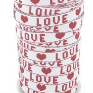 Dit katoenen lint is te koop bij kralenwinkel Limited Edition in Den Haag.