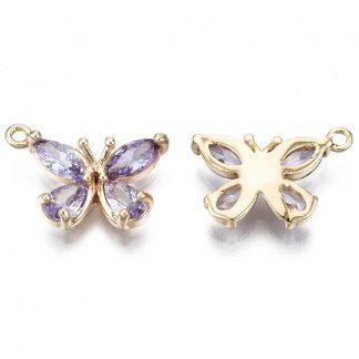 Deze bedel in de vorm van een vlinder is te koop bij kralenwinkel Limited Edition in Den Haag.