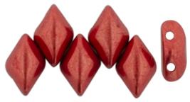 De Gemduo kraal van Matubo is erg leuk om te gebruiken in patroontjes en is te koop bij kralenwinkel Limited Edition in Den Haag in de kleur 07B09.